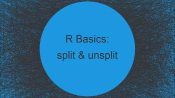 split & unsplit Functions in R (2 Examples)
