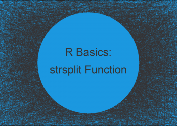 strsplit Function in R (3 Examples) | How to Split a Character String