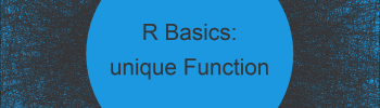 unique Function in R (2 Examples)