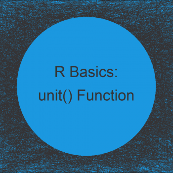 unit Function in R (Example) | How to Create a Unit Object with the grid Package