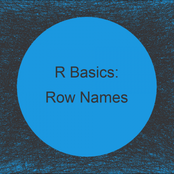 Change Row Names of Data Frame or Matrix in R (4 Examples)