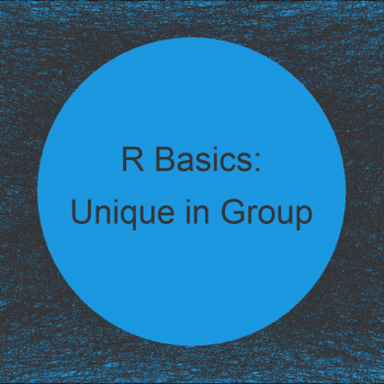 Count Unique Values by Group in R (3 Examples)