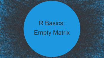 Create Empty Matrix in R (Example)