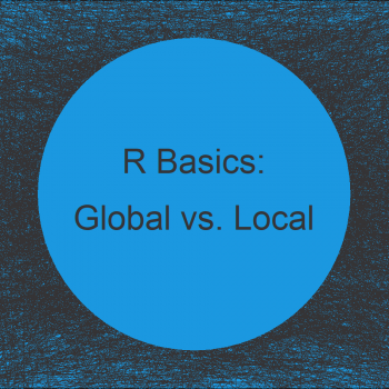 Difference of Global & Local Variables in R (2 Examples)