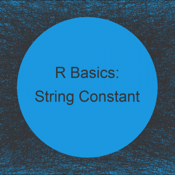 R Error: Unexpected String Constant in X (2 Examples)