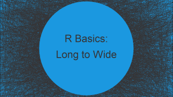 Reshape Data Frame from Long to Wide Format in R (2 Examples)