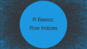 Get Row Indices where Data Frame Column has a Particular Value in R (2 Examples)