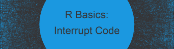 Stop Running R Code with Keyboard Shortcut (Example)