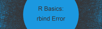 R rbind Function Error: Names don't Match Previous Names (3 Examples)