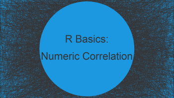 Calculate Correlation Matrix Only for Numeric Columns in R (2 Examples)