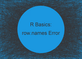 R Error in read.table: duplicate 'row.names' are not allowed (3 Examples)