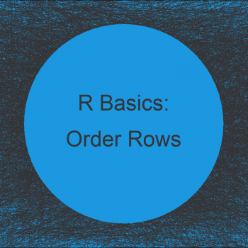 Order Data Frame Rows According to Vector in R (2 Examples)