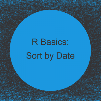 Order Data Frame by Date in R (Example)