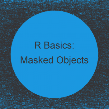 Warning in R: The following objects are masked from package (Example)