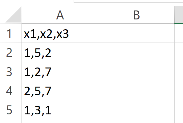 example csv 2