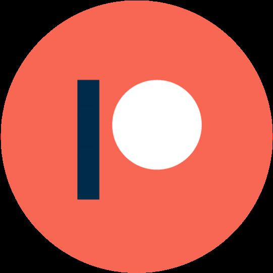 patreon statistics globe logo