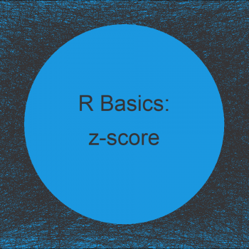 Compute z-score in R (2 Examples)