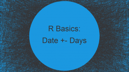Add & Subtract Days to & from Date in R (2 Examples)