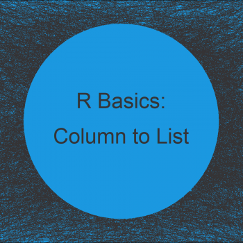 Convert Data Frame Columns to List Elements in R (2 Examples)
