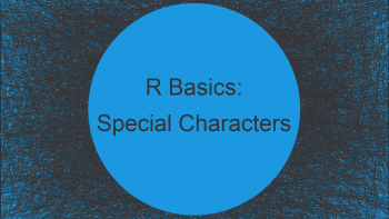 Deal with Special Characters in Functions (2 Examples)