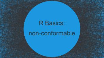 Matrix Multiplication Error in R: non-conformable arguments (2 Examples)