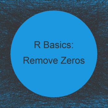 Remove Leading and Trailing Zeros in R (5 Examples)