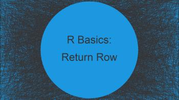 Return Data Frame Row Based On Value in Column in R (Example)