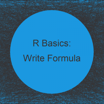 Write Model Formula with Many Variables of Data Frame in R (5 Examples)