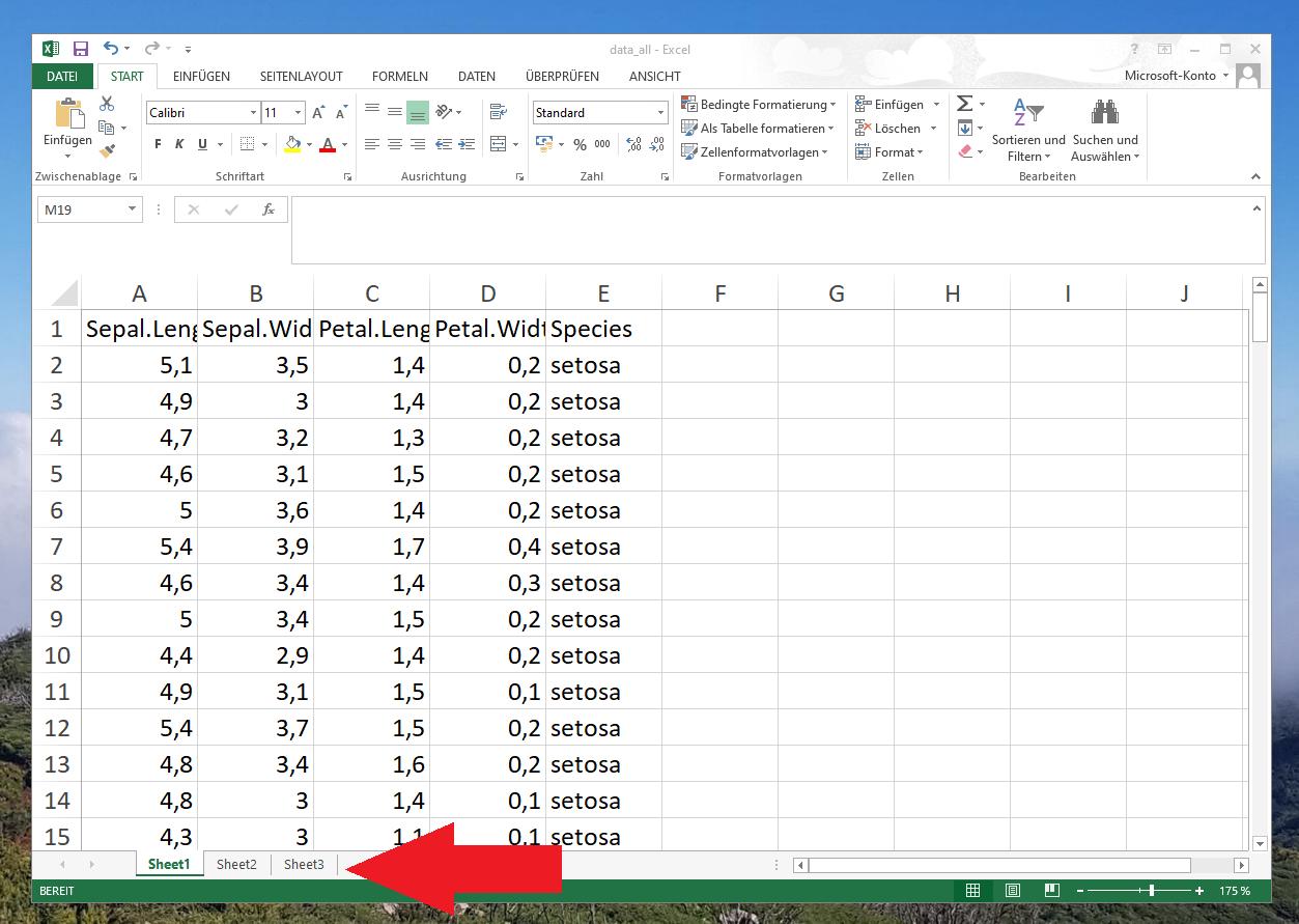 excel file multiple sheets