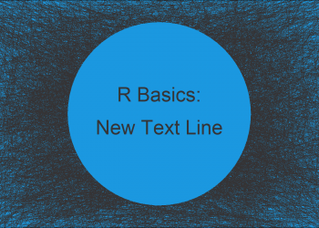Add New Line to Text File in R (Example)