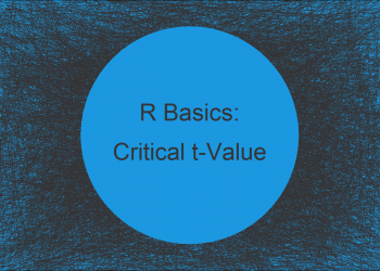 Calculate Critical t-Value in R (3 Examples)