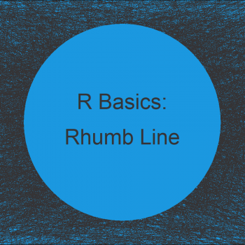 Distance Along Rhumb Line in R (Example)