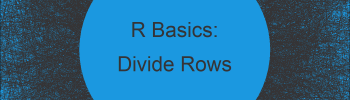 Divide Each Row of Matrix & Data Frame by Vector Elements in R (2 Examples)