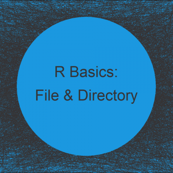 Extract File & Directory Name from Path in R (2 Examples)