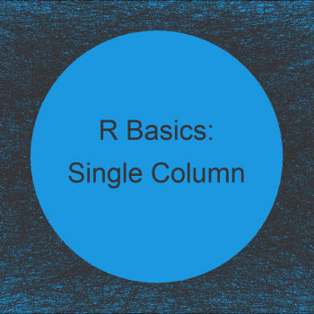 Extract Single Column as Data Frame in R (3 Examples)
