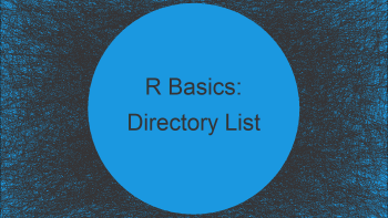 Obtain List of Directories in R (2 Examples) | list.dirs Function Explained
