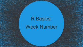 Get Week Number of Date in R (2 Examples)
