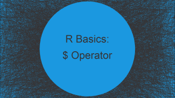 Meaning of $ Operator in R (2 Examples)