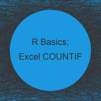 R Equivalent to COUNTIF in Excel (Example)