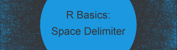 Read TXT File with Spaces as Delimiter in R (Example)