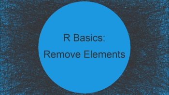 Remove Last N Elements of Vector in R (2 Examples)