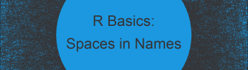Replace Spaces in Column Names in R (2 Examples)