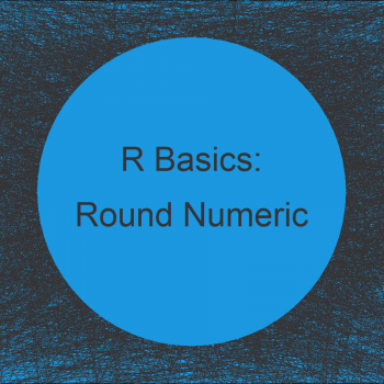 Round Numeric Columns of Data Frame with Character & Factor Variables in R (2 Examples)