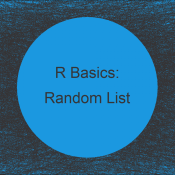 Select Random Element from List in R (Example)