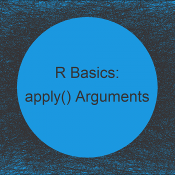 Specify Multiple Arguments in apply Functions in R (Example)
