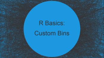 Split Data Frame into Custom Bins in R (Example)