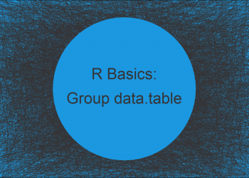 Summarize Multiple Columns of data.table by Group in R (Example)