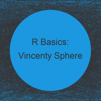 Vincenty Sphere Great Circle Distance in R (Example)