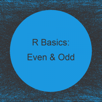 Select Odd & Even Rows & Columns from Data Frame in R (4 Examples)