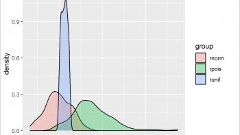 Overlay ggplot2 Density Plots in R (2 Examples)